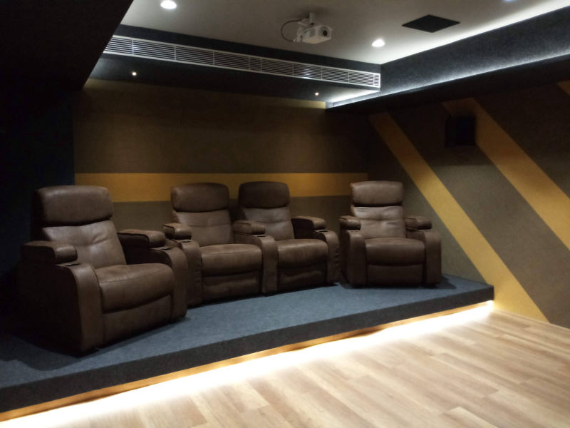 Home Theater Designs and Layouts